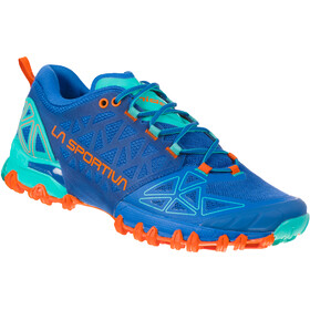 La Sportiva Bushido II Running Shoes Damen marine blue/aqua